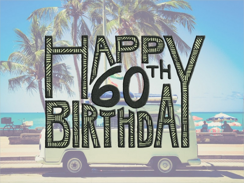 Free Printable 60th Birthday Card
