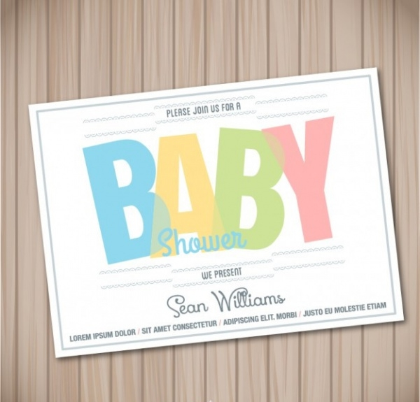 Free Printable Baby Shower Party Invitation