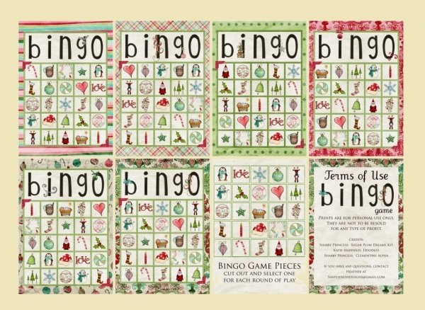 Free Printable Christmas Bingo Card