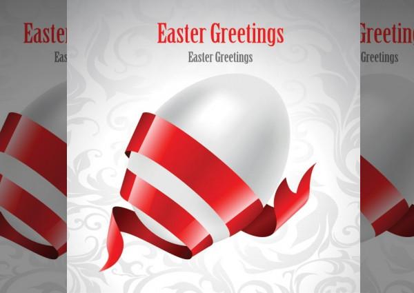 free printable easter greeting card