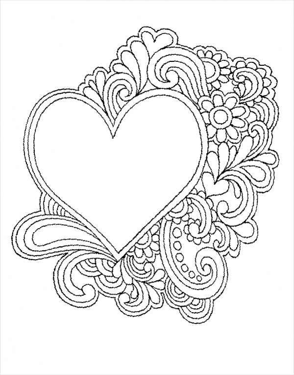 free-printable-heart-coloring-page