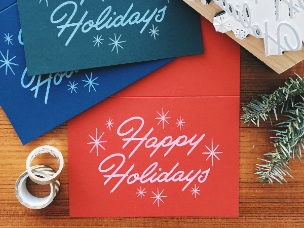 Free Printable Holiday Greeting Cards