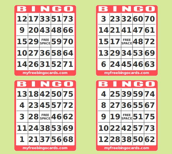 photograph regarding Free Printable Bingo Cards With Numbers identified as Printable Amount Bingo Playing cards - C # ile Website e Hükmedin!