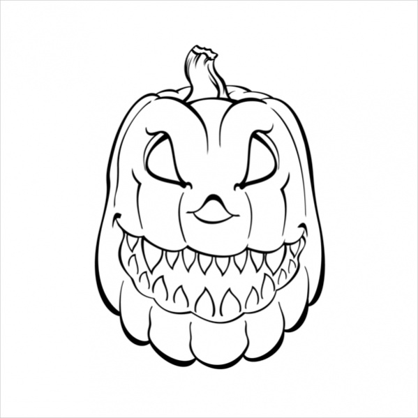 Free Pumpkin Coloring Pages Printable Interesting Pumpkin Color