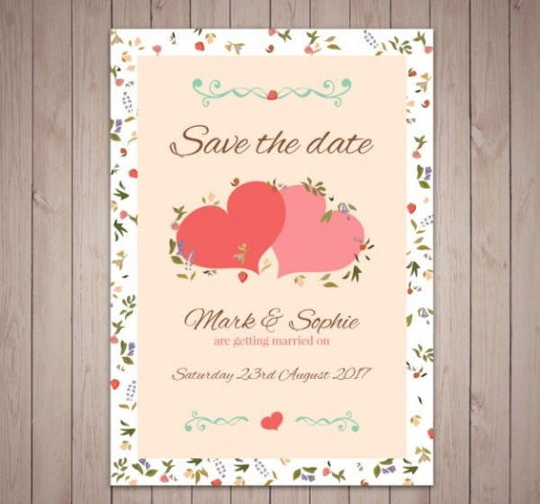 Free Printable Wedding Greeting Card
