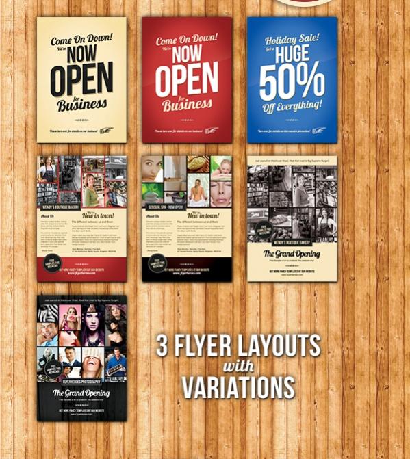 Free Promotional Flyer Design