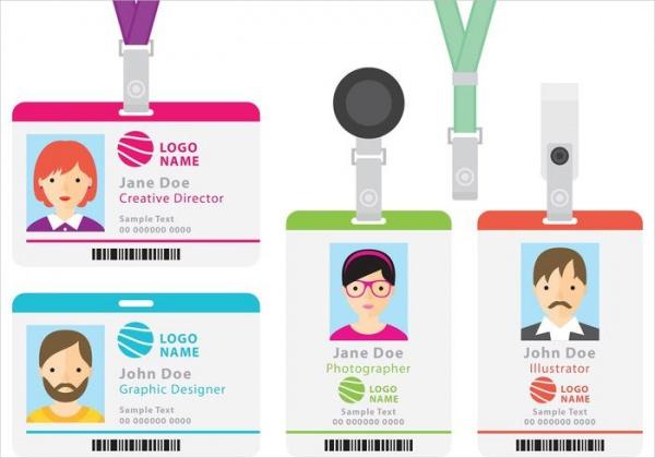 Free School ID Card Design