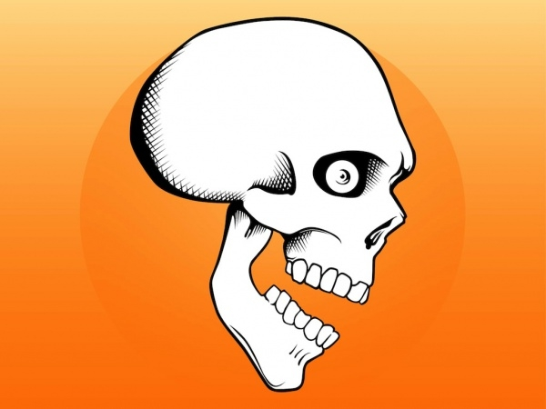 Free Skull Cartoon