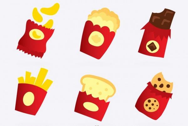 Free Snack Packaging Design