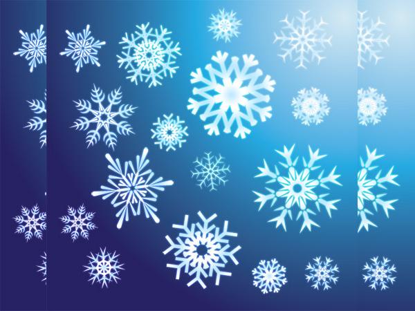 Free Snowflake Vectors