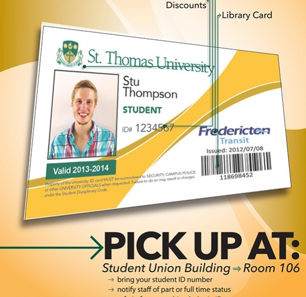 Free Student ID Card Design