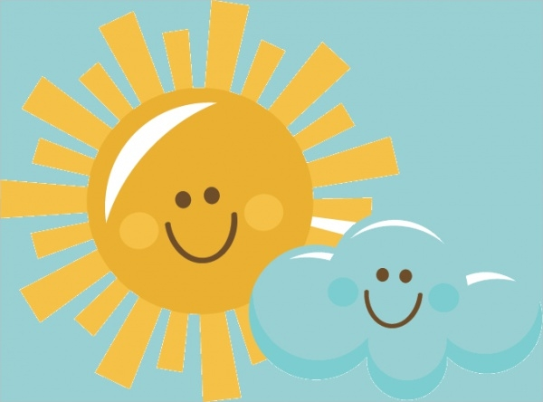 Free Sunshine Clipart Design