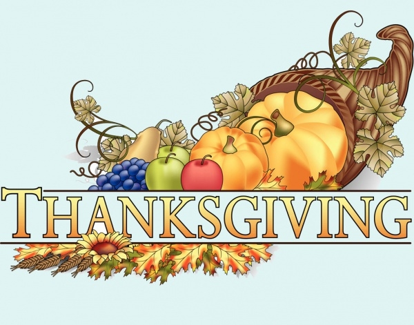 Free Thanksgiving Borders Clip Art