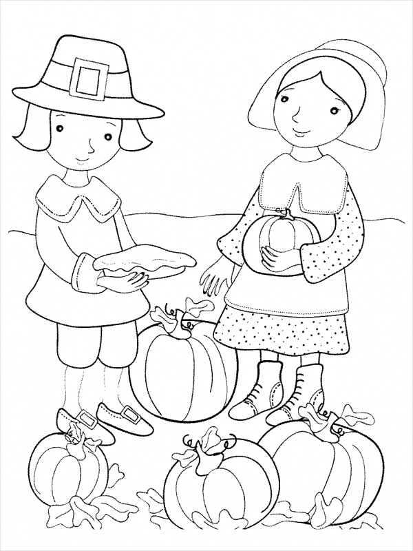 Printable Thanksgiving Coloring Pages Pdf Coloring pages spanish