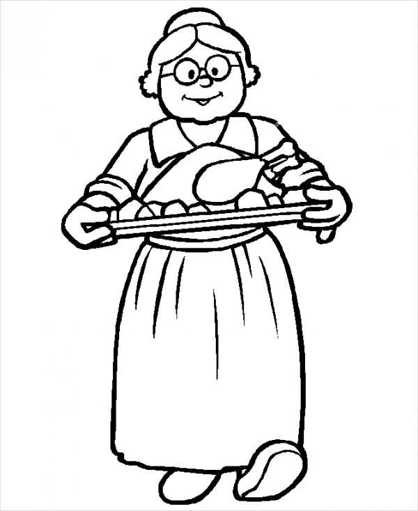 free-thanksgiving-dinner-coloring-page