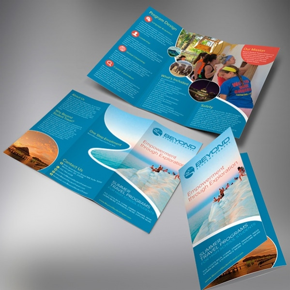 free travel brochure design1