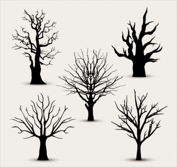 free-tree-silhouettes-design