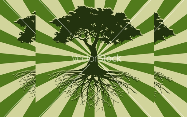 Free Tree Vectors
