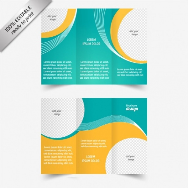 tri fold brochure illustrator template - 21 free brochure templates psd ai illustrator download