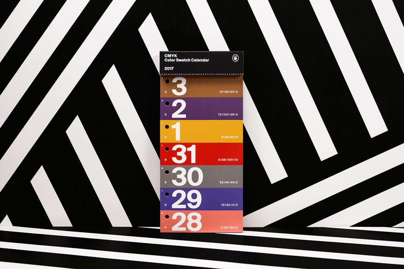 free-typography-calendar-design