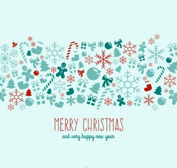 Free Vintage Christmas Wallpaper