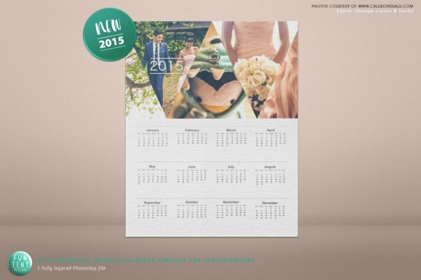Free Wedding Calendar Design