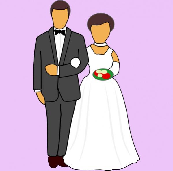 Free Wedding Clipart Image