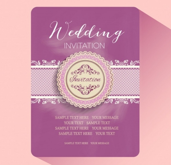 Free Wedding Party Invitation