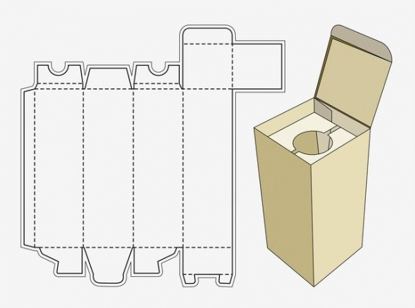free wine box template1