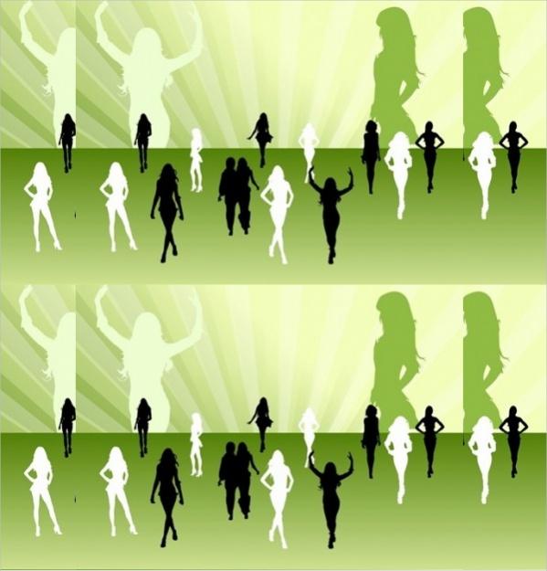 free-women-silhouettes-design