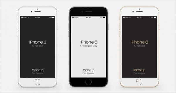 Free iPhone Mockup Design