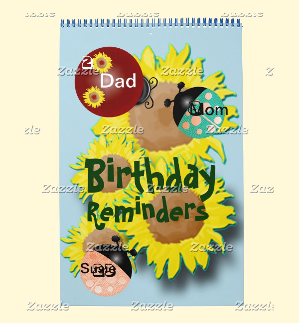 Fully Customized Birthday Calendar