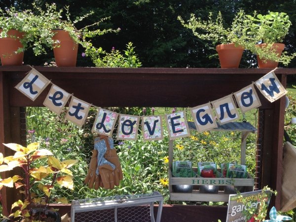 Fully Customized Burlap Banner