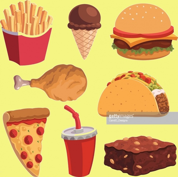 Fully Customized Food Clipart