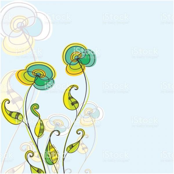 Fully Editable Floral Clip Art