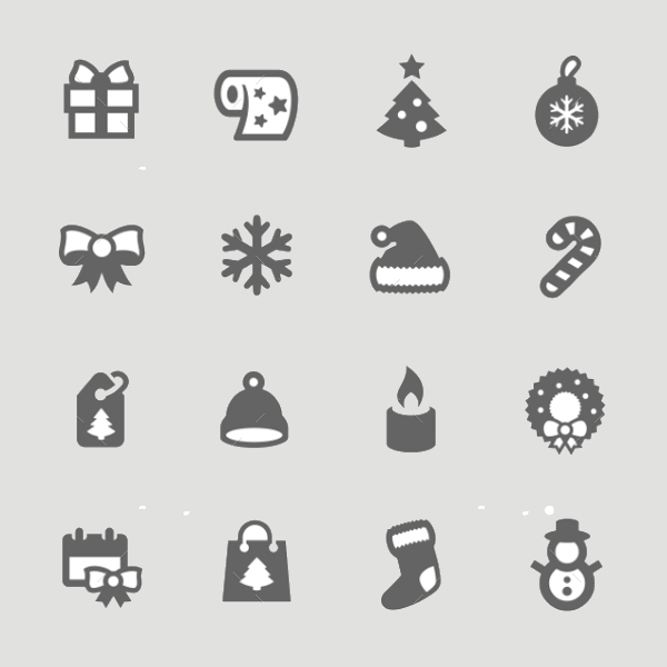 Fully Editable New Year Icons