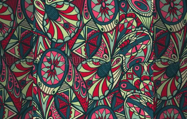 Fully Customized Bohemian Pattern