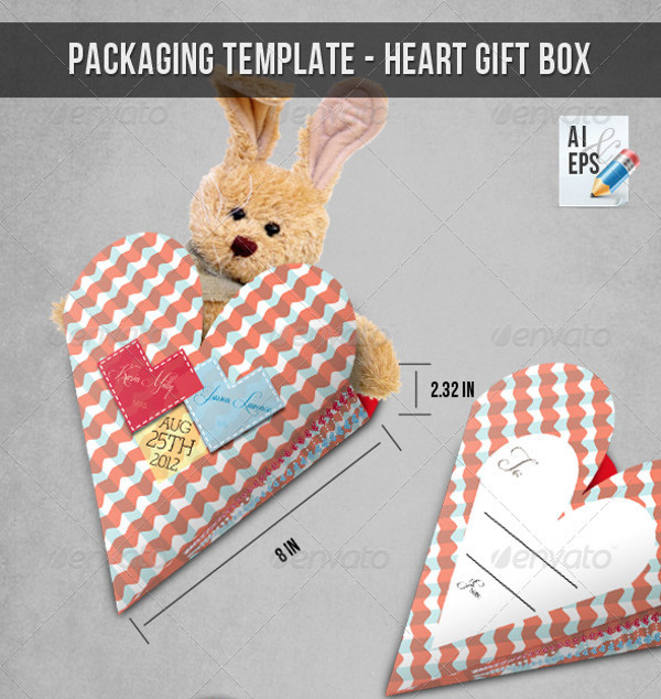 Funny Heart Toy Packaging