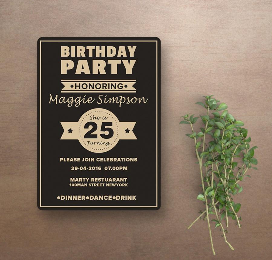 girl birthday invitations