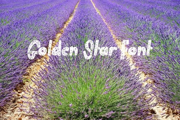 Golden Star Font
