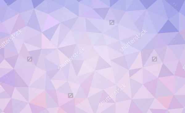 Gradient Purple Polygon Pattern