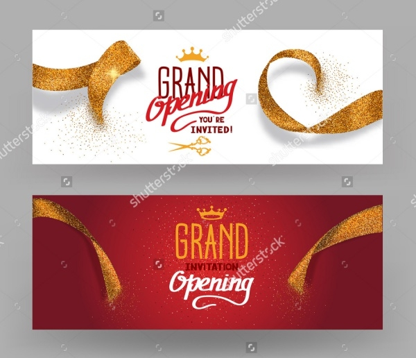 Grand Opening Party Banner