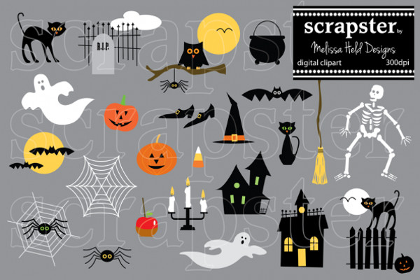 Halloween Clipart Design
