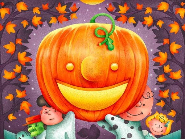 Halloween Digital Painting Design