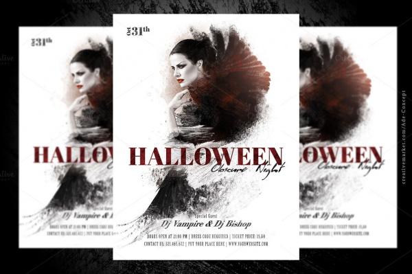 Halloween Elegant Flyer