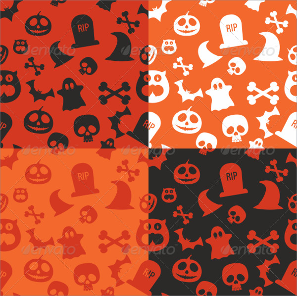 Halloween Pattern Design