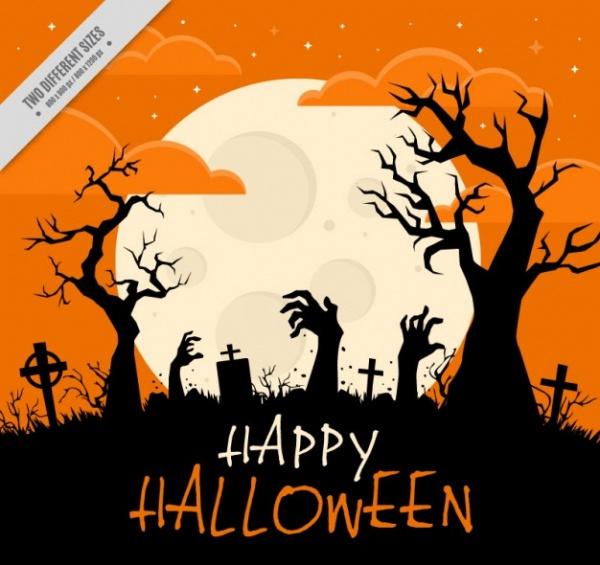 Halloween Silhouettes Design