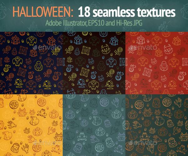 Halloween Texture Design