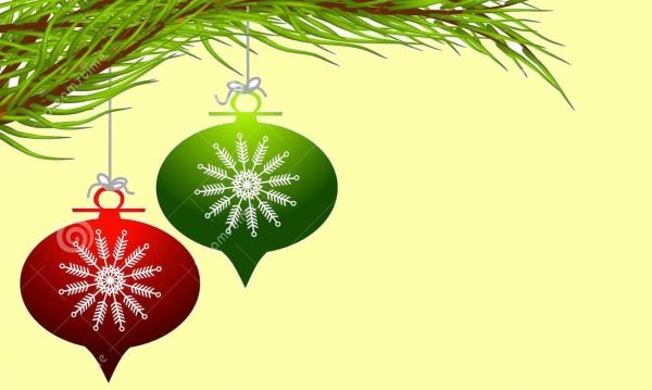 Hanging Christmas Snowflake Clip-art