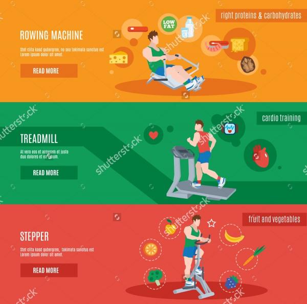 Health Fitness Banner